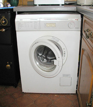 Čištění pračky kyselinou citrónovou