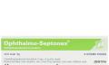 Ophthalmo-Septonex mast příbalový leták