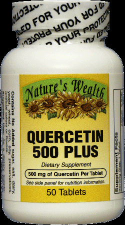Na co je dobrý Quercetin?