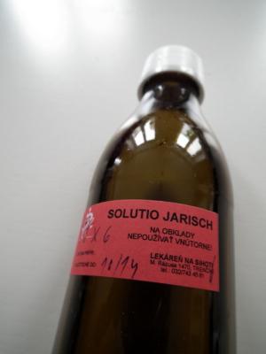 Naco sepoužívá Jarischova voda